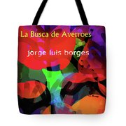 Averroes's Search Borges Poster Tote Bag
