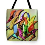 Aviary In Harmony Tote Bag