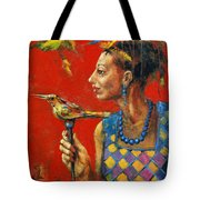 Aviary Queen Tote Bag