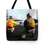 Aviation Art Catus 1 No. 18 H A Tote Bag