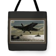 Aviation Art Catus 1 No. 26 L B With Decorative Ornate Printed Frame. Tote Bag