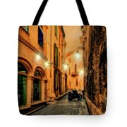 Avignon Alley At Sunset Tote Bag