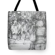 Avignon Shoppers Tote Bag