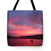 Avila Beach Sunset Tote Bag