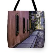 Aviles Street The Oldest Street In The Usa Tote Bag