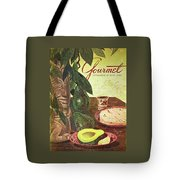 Avocado And Tortillas Tote Bag