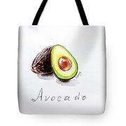 Avocado Lobule Tote Bag