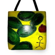 Avocado Man Tote Bag