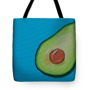 Avocado On The Side Tote Bag