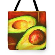 Avocado Sabroso Tote Bag