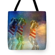 Awaiting The Moment Tote Bag