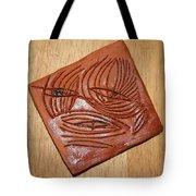 Awaits - Tile Tote Bag