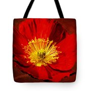 Awake To Red Tote Bag
