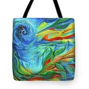 Awaken The Eagle Tote Bag