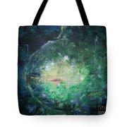 Awakening Abstract II Tote Bag
