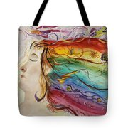 Awakening Consciousness Tote Bag