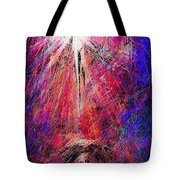 Away In A Manger Tote Bag by Rachel Christine Nowicki
