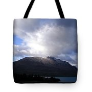 Awesome Aspect Mountain Tote Bag