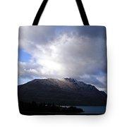 Awesome Aspect Mountain Tote Bag