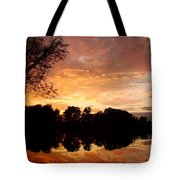 Awesome Sunset Tote Bag