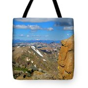 Awesome View From The Mount Massive Summit Tote Bag