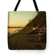 Axe Estuary Boat  Tote Bag