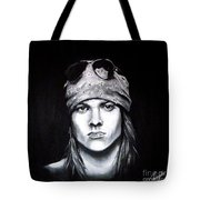 Axl Rose - Welcome To The Jungle Tote Bag