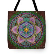 Ayahuasca Tote Bag by Galina Bachmanova