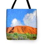 Ayers Rock Tote Bag