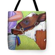 Ayrshire Show Heifer Tote Bag