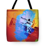 Ayrton Senna Tote Bag by Naxart Studio