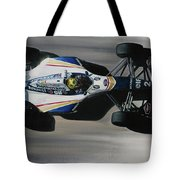 Ayrton Senna - Williams Renault Fw16 Tote Bag
