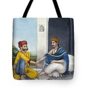 Ayurvedic Medical Practitioner Taking Tote Bag