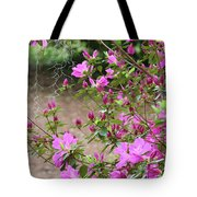 Azalea Branches And Spanish Moss Tote Bag