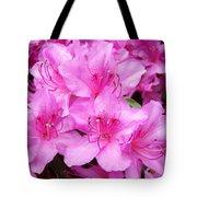 Azalea Floral Garden Fine Art Photography Baslee Troutman Tote Bag