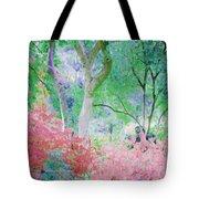 Azalea Flowers And Tree Coral  Tote Bag