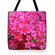 Azalea Flowers Tote Bag