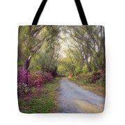 Azalea Lane By H H Photography Of Florida Tote Bag