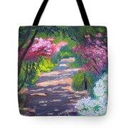 Azalea Path - Sayen Gardens Tote Bag