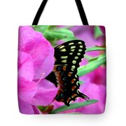 Azalea With Butterfly Tote Bag