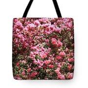 Azaleas Aplenty Tote Bag