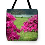 Azaleas At The Azores Tote Bag