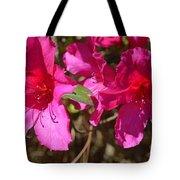 Azaleas In Magenta Tote Bag