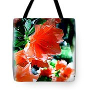 Azaleas In The Spring Tote Bag