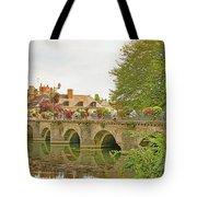 Azay Le Rideau Bridge, Boys Fishing Tote Bag