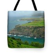Azores Coastal Landscape Tote Bag