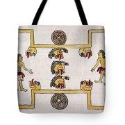 Aztec Ball Game Tote Bag