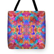 Aztec Kaleidoscope - Pattern 015 Tote Bag