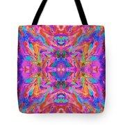 Aztec Kaleidoscope - Pattern 032 Tote Bag