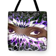 Aztec Mask Tote Bag